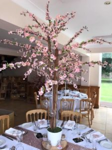 Pink Blossom Tree Hire Centerpieces Only 163 20 Each