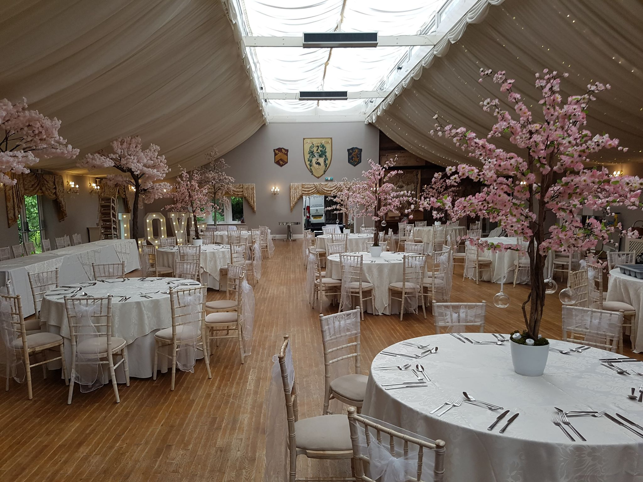 Pink Blossom Tree Hire Centerpieces Only 20 Each Wedding Event